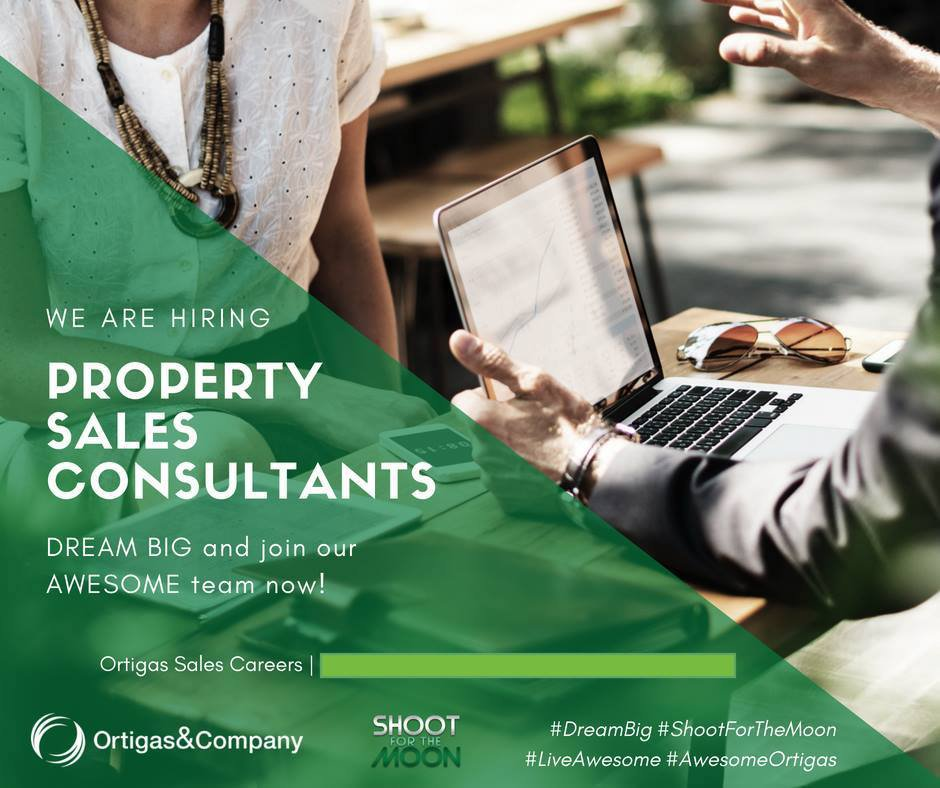 Real Estate Agent Job Openings at Ortigas and Company